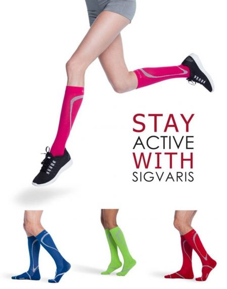 Sigvaris Custom Orthotic Socks